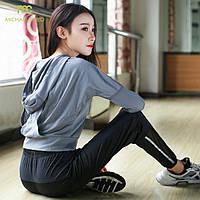 Женское с капюшоном Бегущие рубашки Джерси Breathable Спортивная одежда Фитнес Yoga Лучшие виды спорта