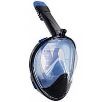 Маска для дайвинга JUST Breath Pro Diving Mask S/M Black/Blue (JBRP-SK-BL)