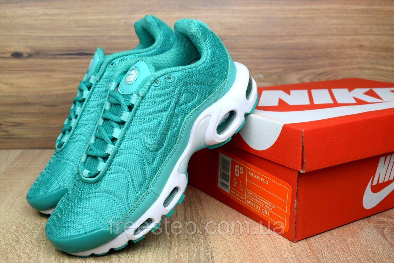 eaf3b540371116 Женские кроссовки в стиле NIKE Air Max Tn Plus, бирюза - Интернет-магазин