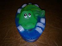 Крокодильчик в мыле!