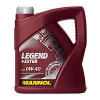 Моторное масло Mannol Legend+Ester SAE 0W-40 A3/B3/B4 4 л