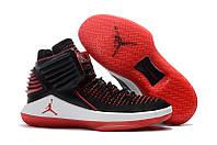 "Кроссовки Баскетбольные Jordan 32(XXXII) ""Black/Red/White"", фото 1"
