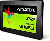 """Твердотельный накопитель 480Gb, A-Data Ultimate SU650, SATA3, 2.5"""", 3D TLC, 520/450 MB/s (ASU650SS-4"""