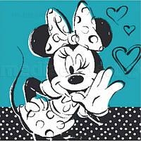 Картина на холсте Disney картина на холсте Disney мышь Minnie 3 (23 X 23)