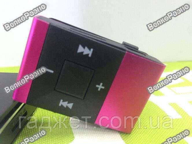 Мощный и стильный MP3 плеер розового цвета