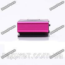 Мощный и стильный MP3 плеер розового цвета, фото 2