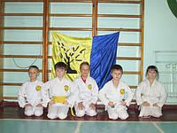 Как проходят занятия в школе карате для детей в Днепропетровске на Фрунзенском!