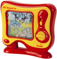 Телевизор музыкальный, развивающая игрушка АВС Simba