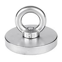 60 мм восстановление неодима Магнит с кольцом из стали 304