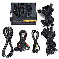 1600W 90V-260V Mining Rig Mining Machine Miner Power Supply Поддержка 6 GPU