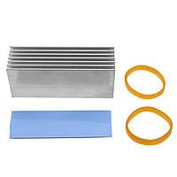 Алюминий M.2 NVMe SSD Теплоотвод Охлаждение Тепловая диссипация M.2 Твердотельный накопитель на жестком диске для SSD