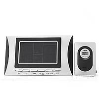 LCD Цифровая крытая На открытом воздухе Беспроводная метеостанция Часы Календарь Термометр