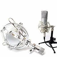 Универсальная студия Радио Микрофон Держатель для настольных держателей для настольных держателей с зазором для конденсора Микрофон