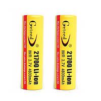 2 штук GETEED 3.7V 4800mAh 35A High Power 21700 20700 Литий-ионный аккумулятор Батарея