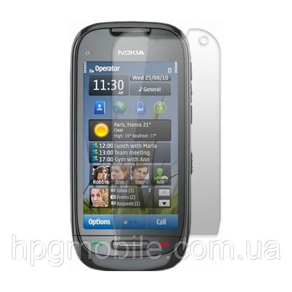 Защитная пленка для Nokia 701 - Celebrity Premium (matte), матовая