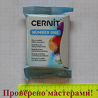 """Полимерная глина """"CERNIT"""" 56 гр СЕРЫЙ"""