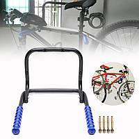 BIKIGHT Велосипед настенный складной стальной велосипед хранения стойки Крюк 2 велосипеда сарай гараж