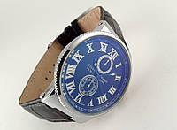 Стильные часы - Ulysse Nardin - Le Locle на черном каучуковом ремешке, цвет корпуса серебро, черный циферблат