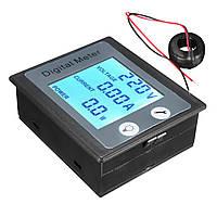 AC 80-260V 100A Цифровое напряжение Измеритель энергопотребления Амперметр Вольтметр Трансформатор