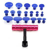 PDR T-Bar Авто Крышка для снятия лака для снятия лакокрасочного покрытия Инструмент 18 Вкладка для выталкивателя