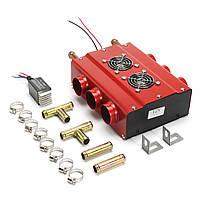 12V 6 Порты Авто Underdash Double Side Compact Нагреватель Heat C Переключатель скорости AU