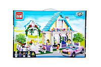 Конструктор для девочки brick 1129 Свадьба на 613 деталей в коробке