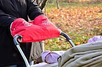 Муфта на коляску 0322 красная