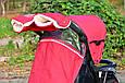 Муфта на коляску 0322 красная, фото 3