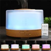 Ультразвуковой Масло Эссенциальный Диффузор Увлажнитель LED Очиститель ароматерапии ночного света AC110-240V