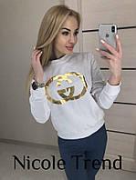 Женский стильный свитшот Шанель РЕАЛ ФОТО!, фото 1