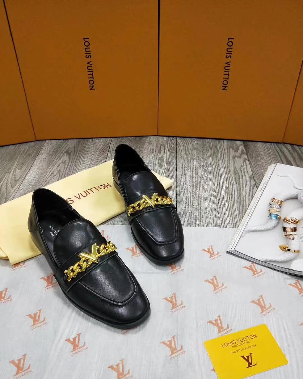 fcbb92316 Кожаные мокасины Louis Vuitton - Люкс реплики брендовых сумок, обуви в Киеве