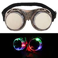 LED Мигающий ветрозащитный Очки Световой свет Светящиеся очки Прохладный  Взрослые Дети партии очки 1TopShop 433f52ff242