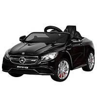 Детский электромобиль Mercedes S63 - M 2797 EBLRS-2: 2.4G, EVA, 8 км/ч - BLACK PAINT - купить оптом, фото 1