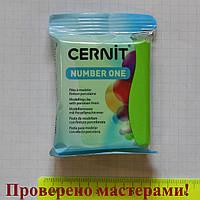 """Полимерная глина """"CERNIT"""" 56 гр ЗЕЛЕНЫЙ СВЕТЛЫЙ"""