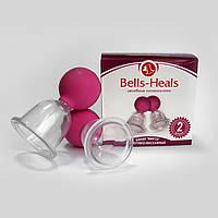 Банка вакуумно-массажная Мирта №2 Bells-Heals Целебные колокольчики