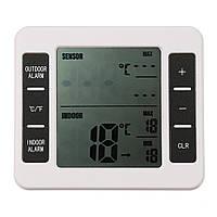 Беспроводной цифровой морозильник Термометр Крытый На открытом воздухе Звуковой сигнал тревоги с Датчик - 1TopShop