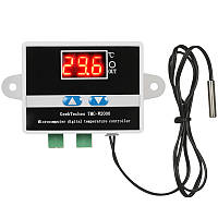GeekTeches TMC-W2000 AC110-220V 1500W LCD Цифровой термостат Термометр Терморегулятор терморегулятора+Водонепроницаемы Датчик Зонд
