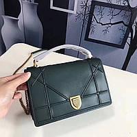 Кожаная сумка на цепочке Dior