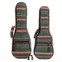 21 23 дюймов Традиционный укулеле Чехол Soft Мягкая ручка защищает рюкзак Cover Gig Сумка