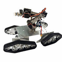 DoArm T900 Robot Tank Авто Шасси с S7 Robot Arm Claw для Arduino