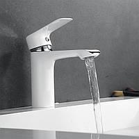 KCASA KC-SL1 Смеситель для раковины Смеситель для раковины из хромированной рамы Ванная комната Смеситель для умывальника с горячей водой