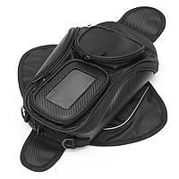 Водонепроницаемы Магнитный мотоцикл Мотоцикл Масло Топливный бак Сумка Чехол для телефона/GPS