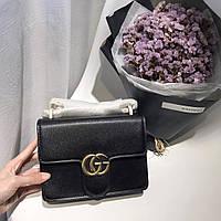 Маленькая сумочка из натуральной кожи Gucci
