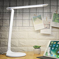 Складная Dimmable 48 LED Стол Лампа Настольный светильник для глаз для чтения Спальня AC85-265V