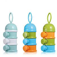 GL 3 Layer Portable Newborn Milk Formula Powder Коробка Контейнер для хранения детского питания PP Продовольственные товары для безопасного хранения
