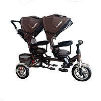 Велосипед Turbo Trike M 3116 для двойни