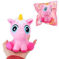 Мультяшный Squishy Unicorn 15CM Jumbo Slow Rising Phone Strap Кулон Игрушка для малышей с упаковкой