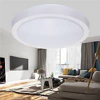 12W 1000LM Современный круглый LED Потолочный светильник Flush Mount Лампа для спальни Кухня Ванная комната AC110-240V