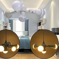 4 В 1 E27 Регулируемая Разъем Лампа Базовый держатель потолка Кулон Адаптер AC100-240V - 1TopShop