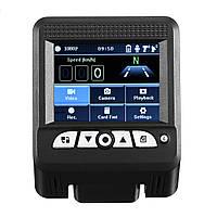 2 In 1 1080P Скрытый Авто Видеорегистратор Детектор камера Видеомагнитофон Dash Cam Radar Лазер